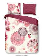 POSTELJINA ZA MLADE - pink/višebojno, Konvencionalno, tekstil (140/200cm)