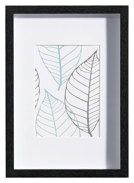 BILDERRAHMEN in Schwarz - Schwarz, Basics, Glas/Holz (23/32/3cm)