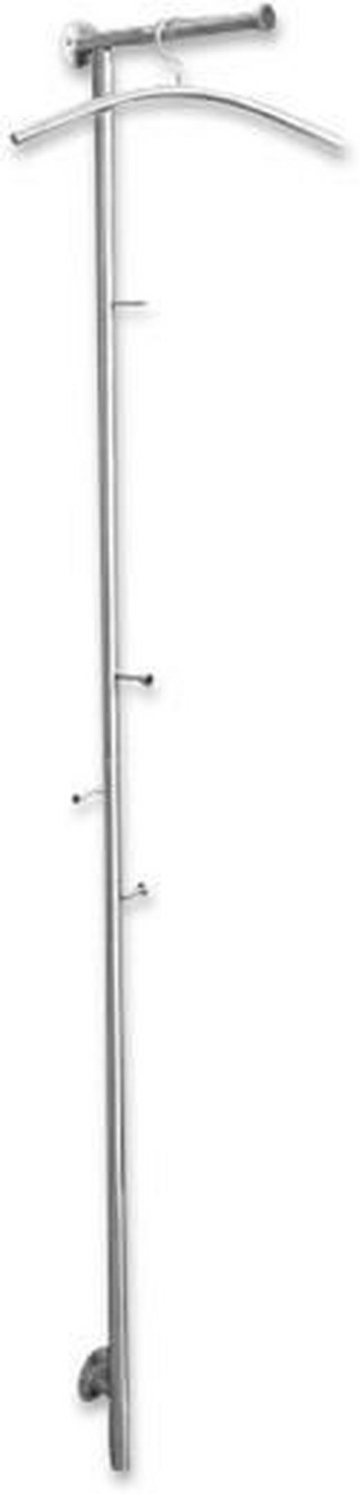 WANDGARDEROBE Edelstahlfarben - Edelstahlfarben, Design, Metall (8.5/193/32cm) - CARRYHOME