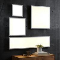 LED-PANEEL - Weiß, KONVENTIONELL, Kunststoff/Metall (120/30/4,5cm) - Novel
