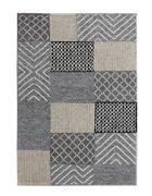 HANDWEBTEPPICH  130/190 cm  Grau   - Grau, Natur, Textil (130/190cm) - Linea Natura