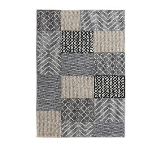 HANDWEBTEPPICH 160/230 cm - Grau, Natur, Textil (160/230cm) - Linea Natura