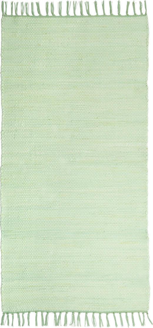FLECKERLTEPPICH - Mintgrün, Trend, Textil (80/150cm) - Boxxx