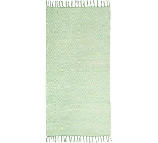 FLECKERLTEPPICH 80/150 cm  - Mintgrün, Trend, Textil (80/150cm) - Boxxx