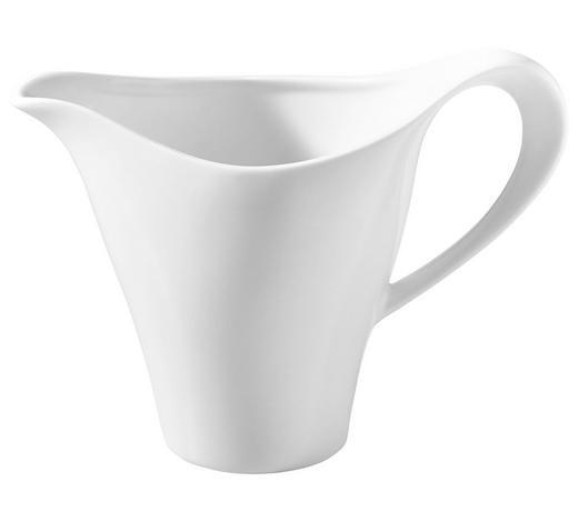 KONVIČKA NA MLÉKO, porcelán - bílá, Basics, keramika (0,28l) - Novel