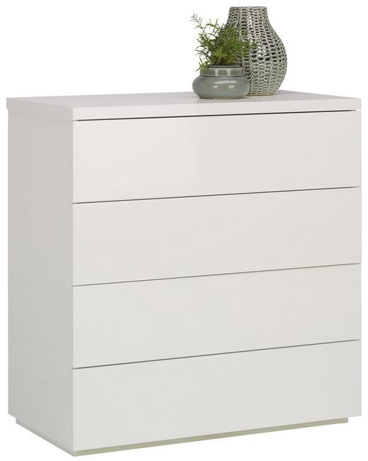 KOMMODE 85/88/44 cm - Weiß, KONVENTIONELL, Holzwerkstoff (85/88/44cm) - Xora