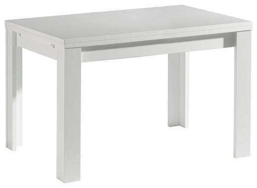 ESSTISCH rechteckig Weiß - Weiß, Design, Holzwerkstoff (120(176)/80/78cm) - Carryhome