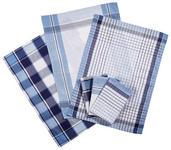 GESCHIRRTUCH-SET - Blau, KONVENTIONELL, Textil (50/70cm) - Boxxx