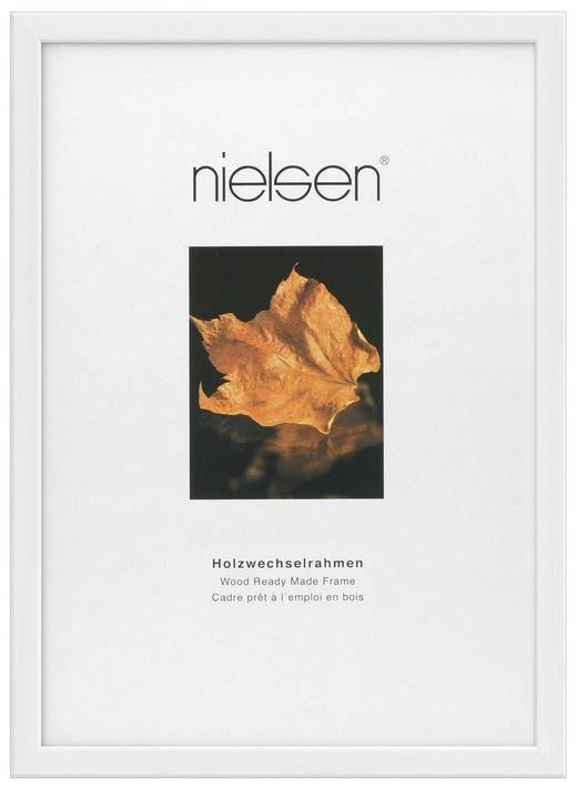 BILDERRAHMEN in Weiß - Weiß, Basics, Holz (23/31.7cm) - Nielsen