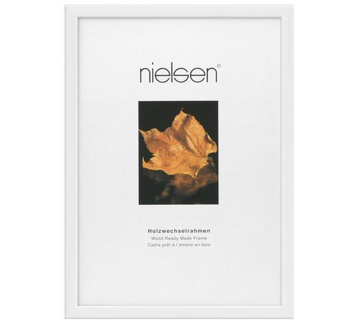 BILDERRAHMEN in Weiß  - Weiß, Basics, Holz (20/26cm) - Nielsen
