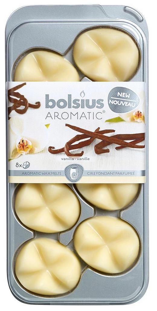 DUFTWACHS Vanille - Creme, Basics, Weitere Naturmaterialien (9,3/19,5/1,7cm) - Bolsius