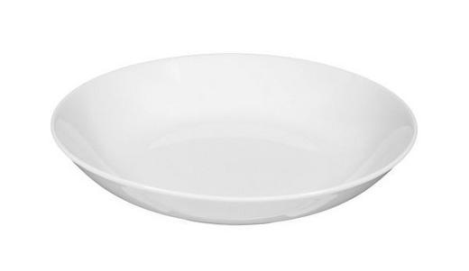 SUPPENTELLER Porzellan - Weiß, Basics (21cm) - SELTMANN WEIDEN