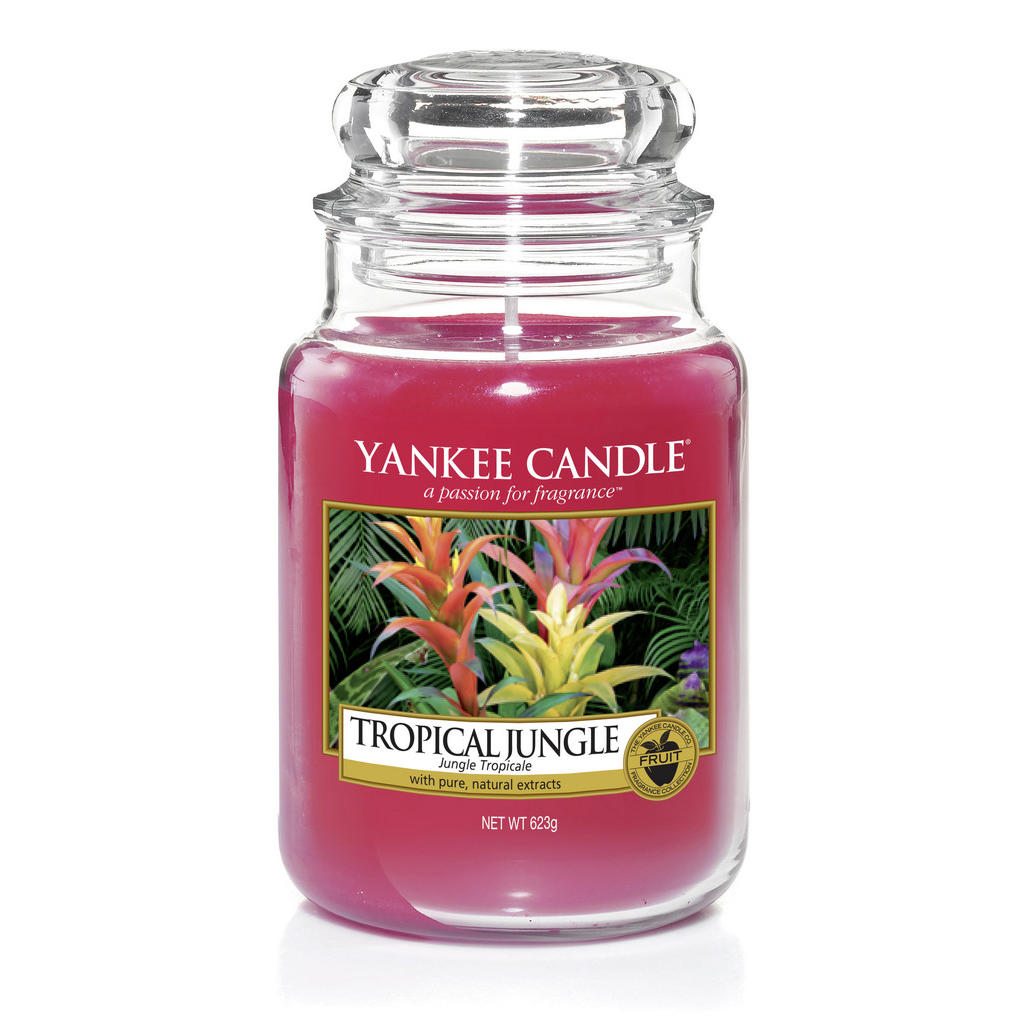 Yankee Candle Duftkerze yankee candle tropical jungle