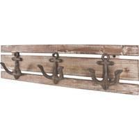 GARDEROBA ZIDNA - smeđa, Design, drvo (50/14/7cm) - Carryhome