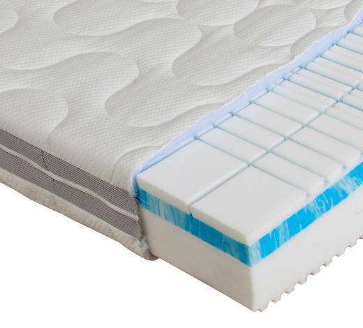 KALTSCHAUMMATRATZE POLAR 3D PREMIUM 100/200 cm 25 cm - Weiß, Basics, Textil (100/200cm) - Dieter Knoll