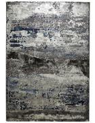TKANA PREPROGA  160/230 cm  tkano  modra, srebrna  - modra/srebrna, Design, tekstil (160/230cm) - Novel