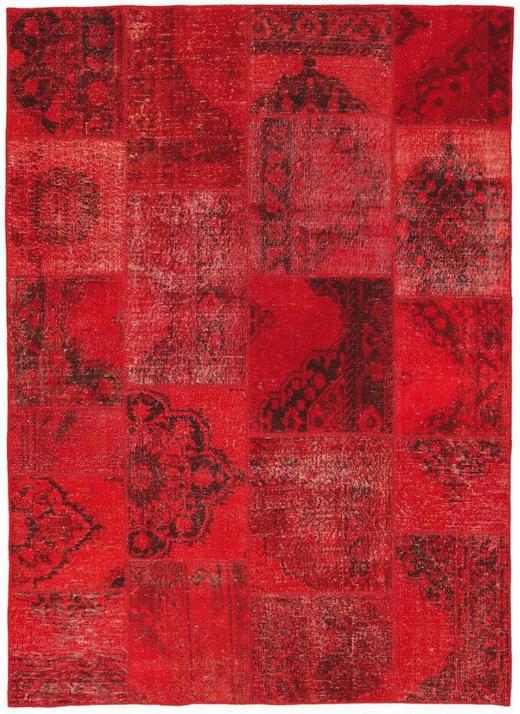 TEPPICH  170/240 cm  Rot - Rot, Basics, Textil (170/240cm)