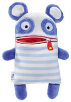 SORGENFRESSER BILL - Blau/Weiß, Trend, Textil (32cm)