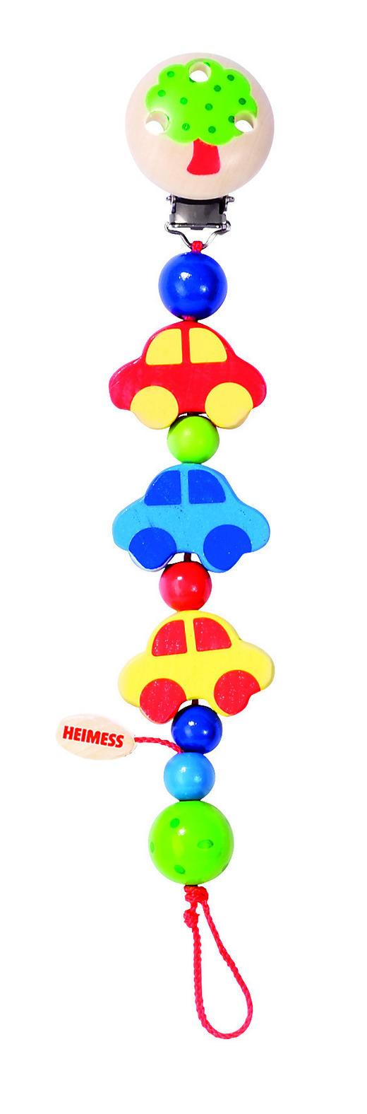 SCHNULLERKETTE 0 Monat(e) - Multicolor, Basics, Holz (21cm) - Heimess