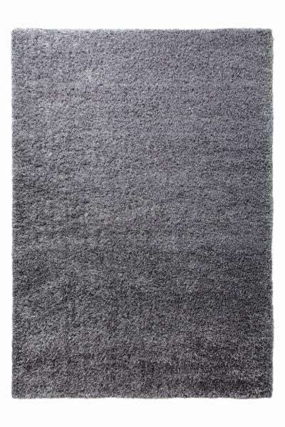 HOCHFLORTEPPICH  133/200 cm   Anthrazit, Silberfarben - Anthrazit/Silberfarben, Basics, Textil (133/200cm) - Esprit