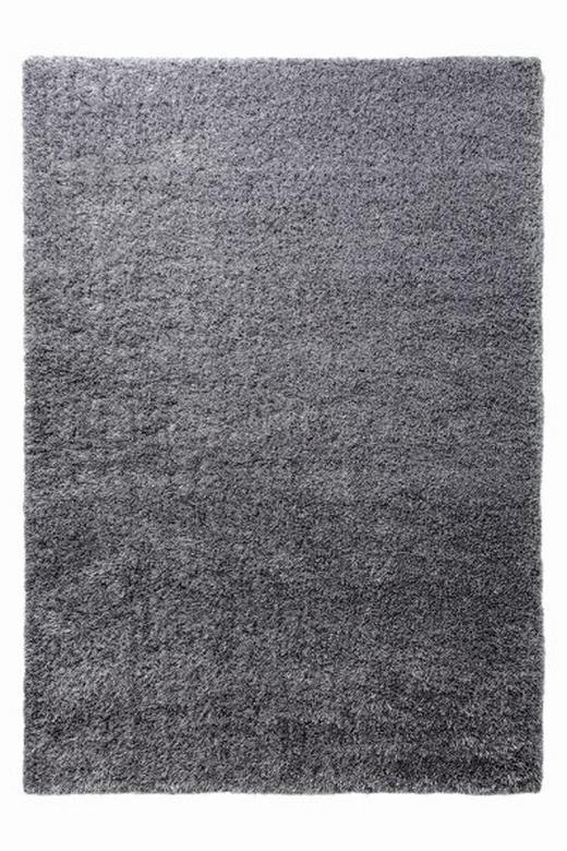 HOCHFLORTEPPICH  120/170 cm   Anthrazit, Silberfarben - Anthrazit/Silberfarben, Basics, Textil (120/170cm) - Esprit