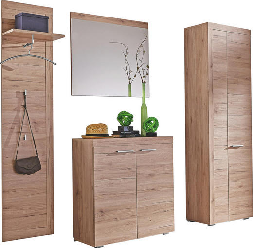 GARDEROBE Eichefarben - Eichefarben, Design (180/198/35cm) - CARRYHOME