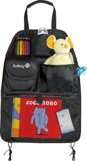 Rücksitztasche fürs Auto - Schwarz, Basics, Textil (38 /54cm)
