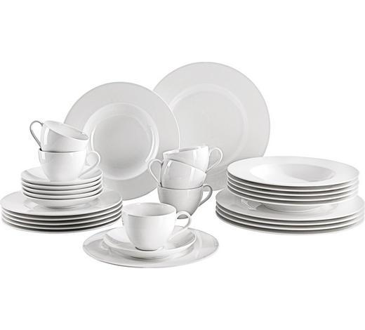 KOMBINOVANÝ SERVIS, 30dílné, porcelán (fine china) - bílá, Konvenční, keramika - Villeroy & Boch