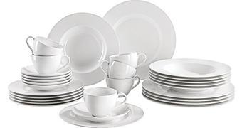 SERVIS KOMBINOVANÝ, 30-dílné, porcelán (fine china) - bílá, Konvenční, keramika - Villeroy & Boch