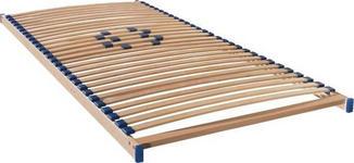 LATTENROST 90/200 cm  - Birkefarben, Basics, Holz/Kunststoff (90/200cm) - Sleeptex
