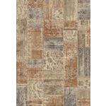 WEBTEPPICH  160/230 cm  Creme, Grau, Orange   - Creme/Orange, Basics, Textil (160/230cm) - Novel