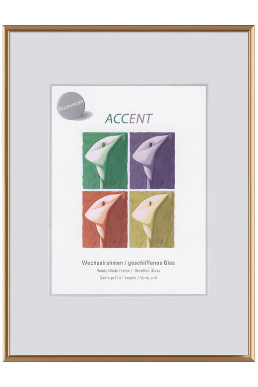 BILDERRAHMEN  Goldfarben - Goldfarben, Basics, Metall (70/100cm)