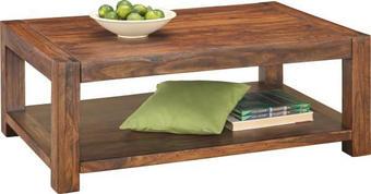 KONFERENČNÍ STOLEK - barvy sheesham, Lifestyle, dřevo (120/45/80cm) - LANDSCAPE