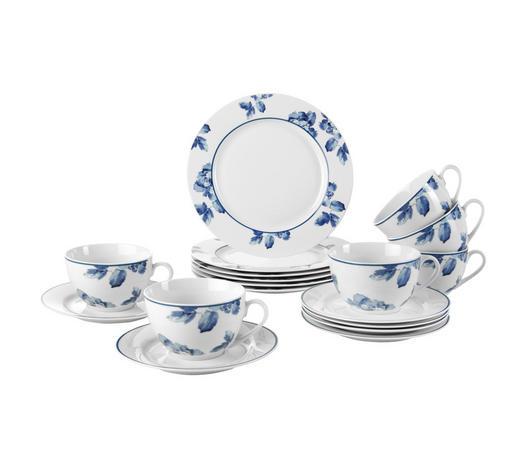 SERVIS ZA KAVU  18-dijelni    - bijela/plava, Basics, keramika - Ritzenhoff Breker