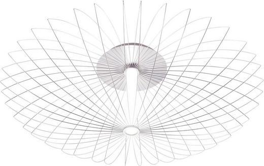 LED-DECKENLEUCHTE - Alufarben, Design, Metall (75/27,6cm)
