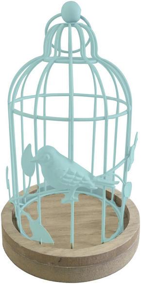 VÄRMELJUSHÅLLARE - blå, Lifestyle, metall/träbaserade material (13,5/22cm) - Ambia Home