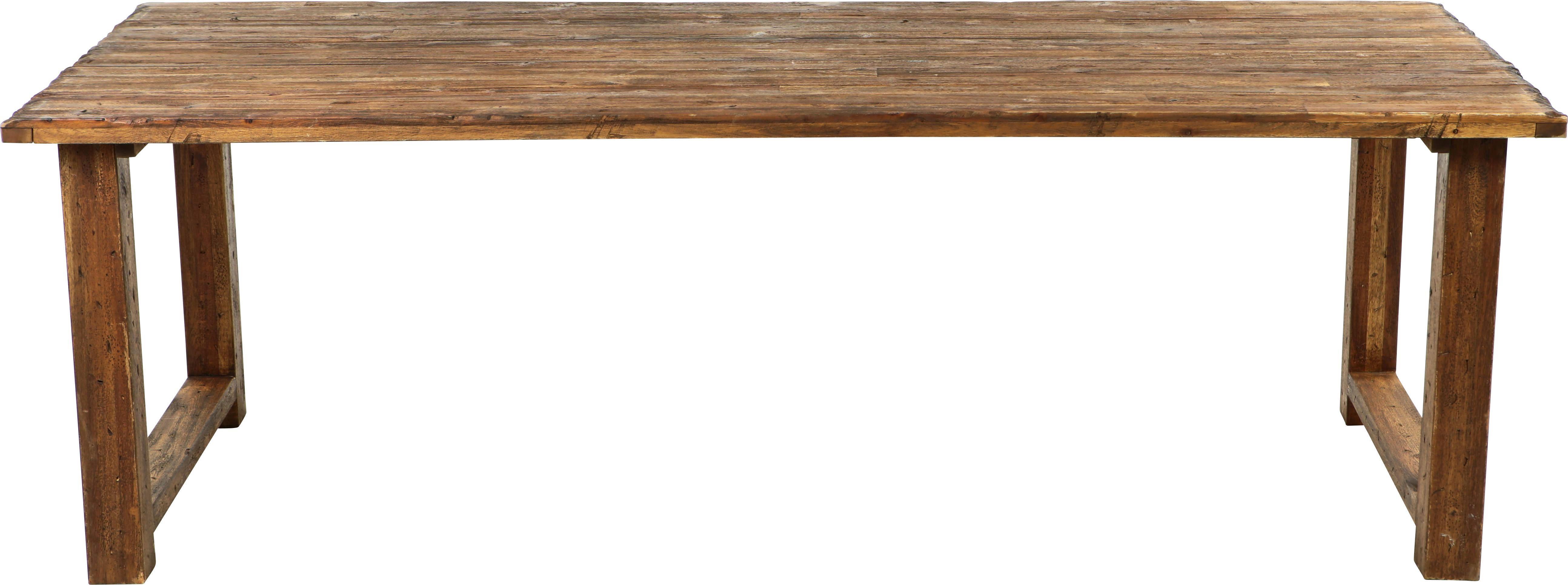 GARTENTISCH - Braun, ROMANTIK / LANDHAUS, Holz (180/75/100cm) - AMBIA GARDEN