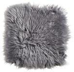 SCHAFFELL SITZKISSEN   Grau - Grau, Basics, Leder/Textil (34/34cm) - Linea Natura