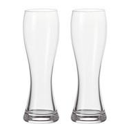 Weizenbierglas-Set 2-teilig - Klar, KONVENTIONELL, Glas (0,5l) - Leonardo