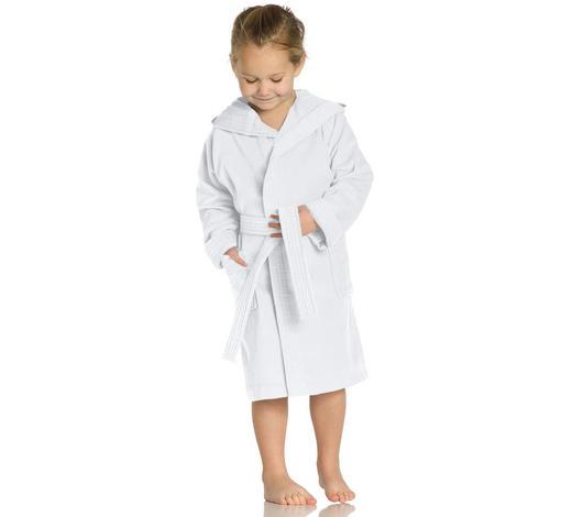 KINDERBADEMANTEL - Weiß, Basics, Textil (104null) - Vossen