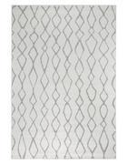 TKANA PREPROGA BOLONIA - siva/bela, Basics, tekstil (120/170cm)