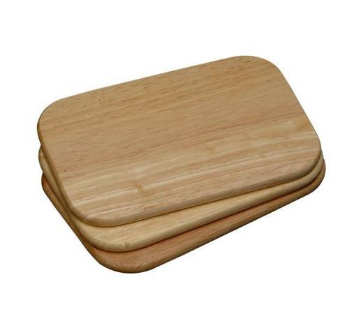 PRKÝNKO - hnědá, Basics, dřevo (23/15/3cm) - Homeware