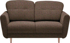 ZWEISITZER-SOFA in Textil Multicolor - Multicolor, Design, Holz/Textil (154/90/93cm) - Hom`in