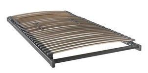 LATTENROST 90/200 cm  - Anthrazit, Basics, Holz (90/200cm) - Novel