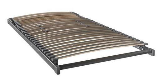 LATTENROST 90/200 cm Buche ,3-Schicht - Anthrazit, Basics, Holz (90/200cm) - Novel