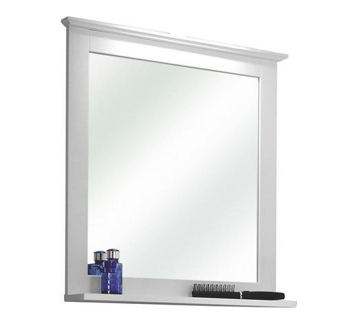 WANDSPIEGEL  - Weiß, Basics, Glas (60/68/12cm) - Xora