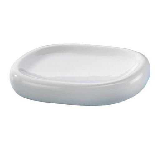SEIFENSCHALE Keramik - Weiß, Basics, Keramik (13,4/2,3/10,3cm) - Sadena