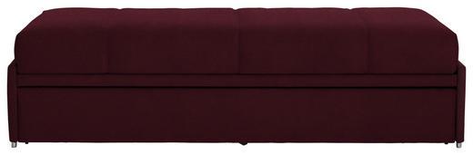 SCHLAFSOFA in Textil Brombeere - Brombeere, Design, Textil (212/56/98cm) - Bali