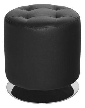 PALL - kromfärg/svart, Design, metall/textil (40/40cm)