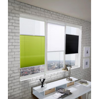 PLISE NAPETI, 50/130 CM - bela, Konvencionalno, tekstil (50/130cm) - Homeware